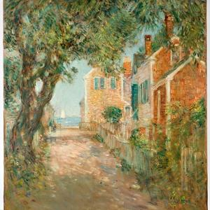 Street in Provincetown, 1904 by Childe Hassam