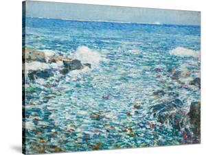 Surf, Isles of Shoals, 1913 by Childe Hassam