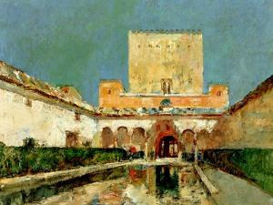 The Alhambra, Granada, Spain, C.1883 by Childe Hassam