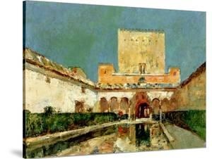 The Alhambra, Granada, Spain, C.1883 by Childe Hassam