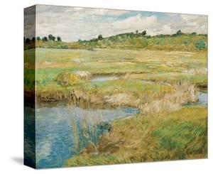 The Concord Meadow, ca. 1891 by Childe Hassam