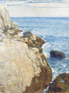 The East Headland, Appledore - Isles of Shoals, 1908 by Childe Hassam