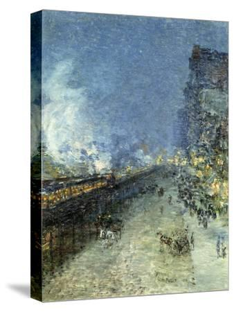 The El, New York, 1894