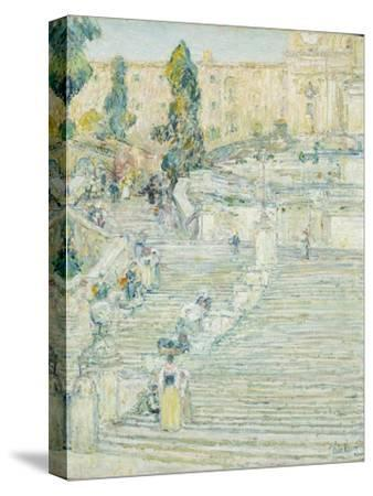 The Spanish Stairs, Rome, 1897 by Childe Hassam