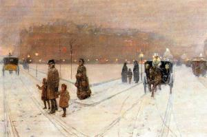 Urban Fairy Tale by Childe Hassam