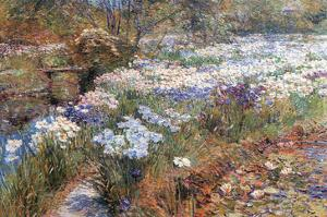 Water Garden by Childe Hassam