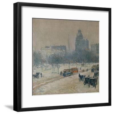 Winter in Union Square, 1889-90