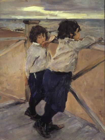 Children, 1899-Valentin Serov-Giclee Print
