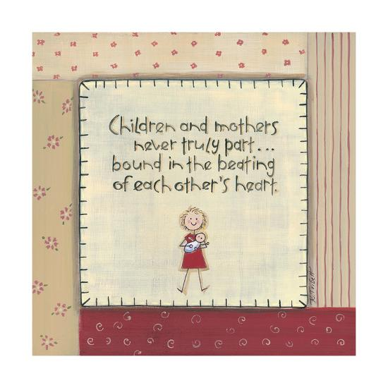 Children and Mothers-Karen Tribett-Art Print