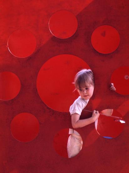 Children at Play in New York City Playgrounds-John Zimmerman-Photographic Print