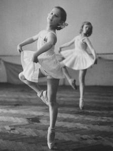 Children at the Pioneer Palace Being Taught Ballet
