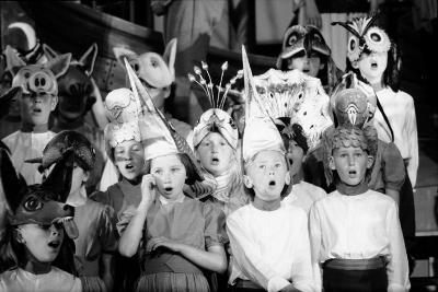 Children Chorus, Aldeburgh Festival, Suffolk, England, June 1959-Mark Kauffman-Photographic Print