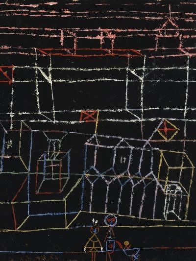 Children of the City; Kinder Von Der Stadt-Paul Klee-Giclee Print