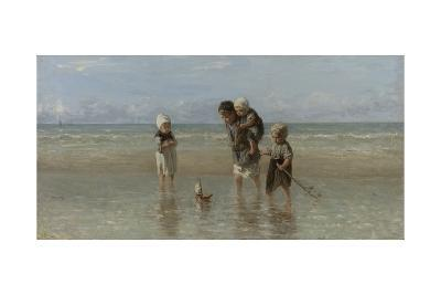 Children of the Sea, 1872-Jozef Israels-Giclee Print
