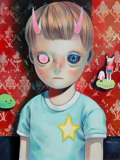 Children of This Planet 23-Hikari Shimoda-Art Print
