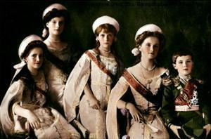 Children of Tsar Nicholas II and Tsarina Alexandra of Russia, C1910