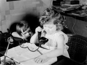 Children Phoning