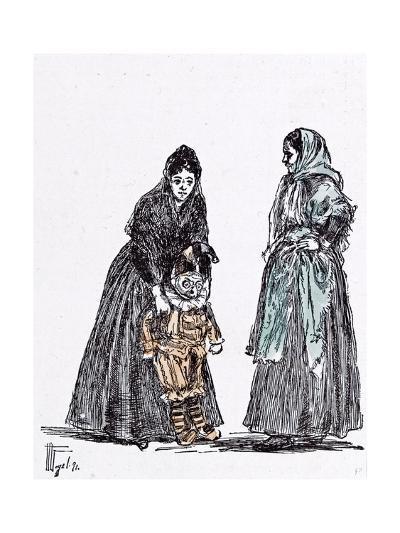 Children's Carnival at Menorca in 1892--Giclee Print
