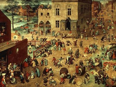 Children's Games, 1560-Pieter Bruegel the Elder-Giclee Print