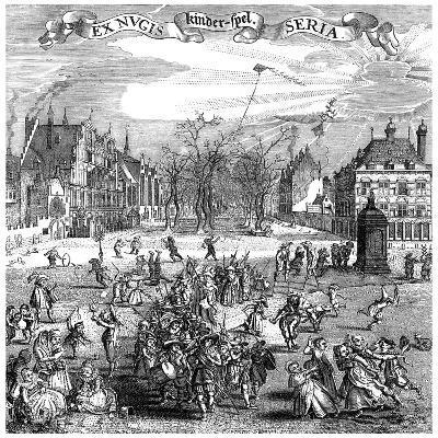 Children's Games, 1882--Giclee Print