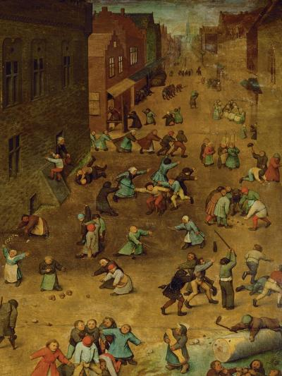 Children's Games-Pieter Bruegel the Elder-Giclee Print