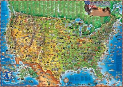 Beautiful Kid's Maps artwork for sale, Posters and Prints | The