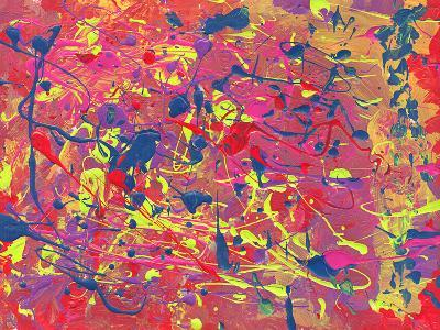 Childs Abstract Art Painting-Alexey Kuznetsov-Art Print