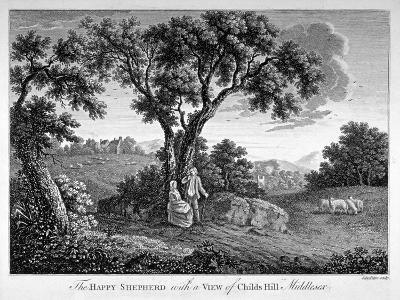 Childs Hill, Hampstead Heath, London, 1786-John Peltro-Giclee Print