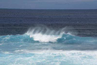 Chile, Easter Island. Pacific Ocean Views of Crashing Waves-Cindy Miller Hopkins-Photographic Print