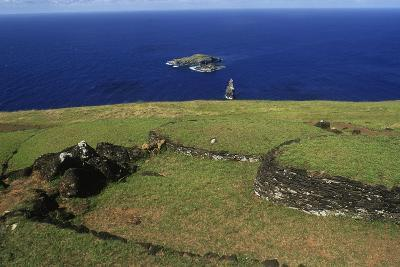 Chile, Easter Island, Rapa-Nui National Park--Giclee Print