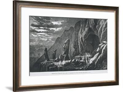 Chile, Easter Island--Framed Giclee Print