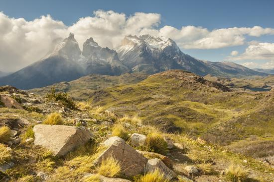 Chile, Patagonia. The Horns mountains.-Jaynes Gallery-Premium Photographic Print