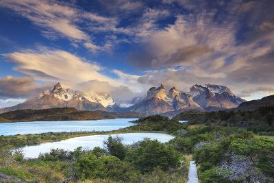 Chile, Patagonia, Torres Del Paine National Park (Unesco Site), Lake Peohe-Michele Falzone-Photographic Print
