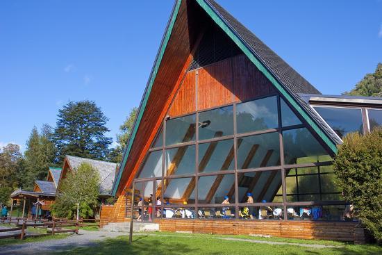 Chile, Patagonia, X. Region, National Park Puyehue, Thermal Bath, Indoor Swimming Pool, Bath House-Chris Seba-Photographic Print