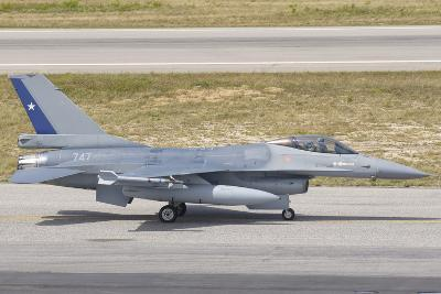Chilean Air Force F-16 at Natal Air Force Base, Brazil-Stocktrek Images-Photographic Print
