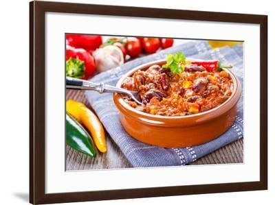 Chili Con Carne-imaGostudio-Framed Photographic Print