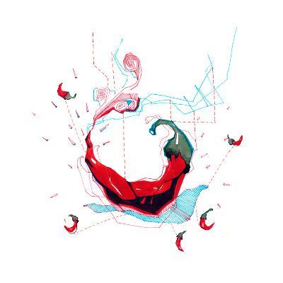 Chili Pepper-okalinichenko-Art Print