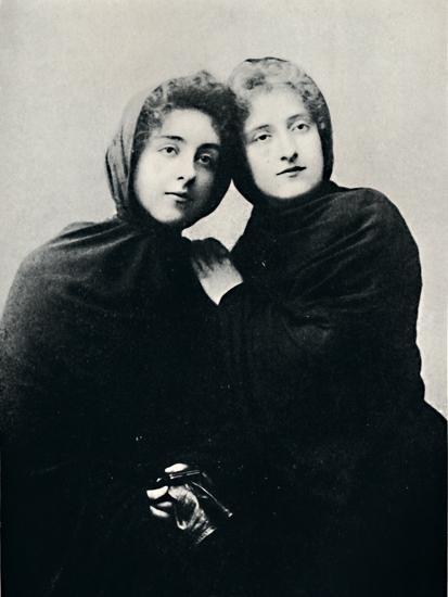 'Chilian Ladies in Church Attire (Manto)', 1911-Unknown-Photographic Print