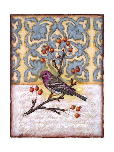 Chilmark Finch-Rachel Paxton-Giclee Print