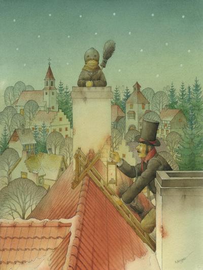 Chimney-Sweep Christmas 02, 2001-Kestutis Kasparavicius-Giclee Print