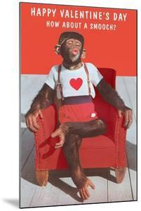 Chimp, How About a Smooch?