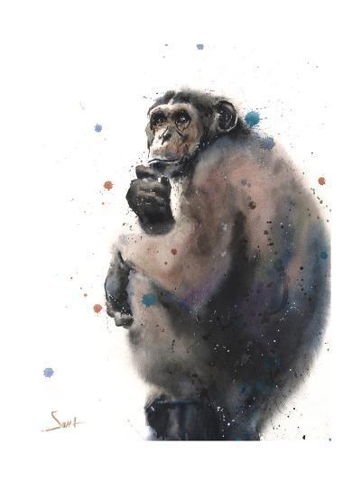 Chimpanzee-Eric Sweet-Art Print