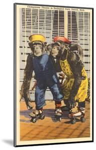 Chimps in Zoo, Detroit, Michigan