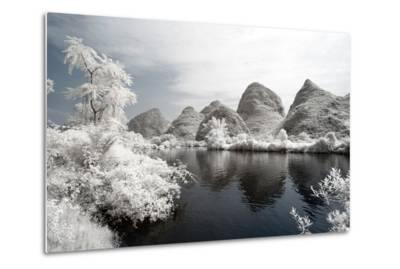 China 10MKm2 Collection - Another Look - Mountain Lake-Philippe Hugonnard-Metal Print
