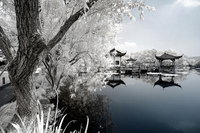 China 10MKm2 Collection - Another Look - Reflection of Temples-Philippe Hugonnard-Photographic Print