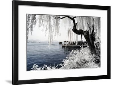 China 10MKm2 Collection - Another Look - Ride on the Lake-Philippe Hugonnard-Framed Photographic Print