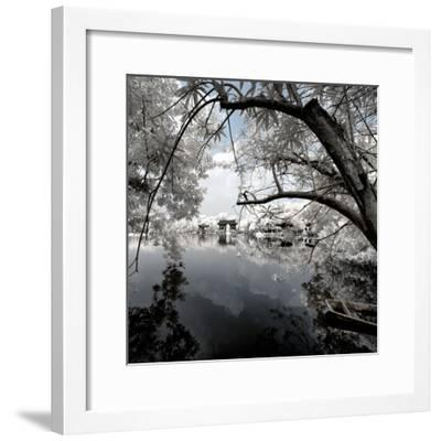 China 10MKm2 Collection - Another Look - View of the Temple-Philippe Hugonnard-Framed Photographic Print