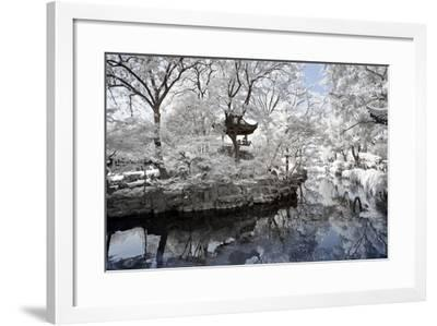China 10MKm2 Collection - Another Look - White Pavilion-Philippe Hugonnard-Framed Photographic Print