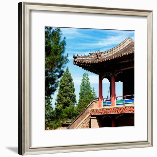 China 10MKm2 Collection - Architectural Temple-Philippe Hugonnard-Framed Photographic Print
