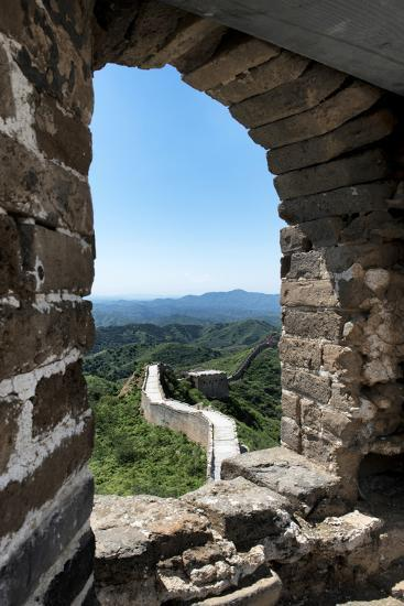 China 10MKm2 Collection - Architecture of the Great Wall of China-Philippe Hugonnard-Photographic Print